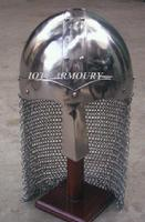 IR80635 NORMAN NASAL HELMET W/CHAINMAIL GUARD BY IOTC ARMOURY