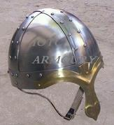 IR80607A ARMOUR HELMET NORMAN KNIGHT BY IOTC ARMOURY