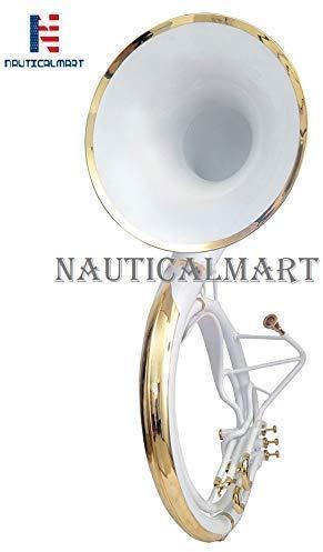 Natural Unlacquered Brass musical instrument gift Jumbo 24-inch Bell Zweiss Superbrass BBb Sousaphone